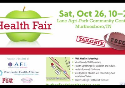 SRRIPA Health Fair