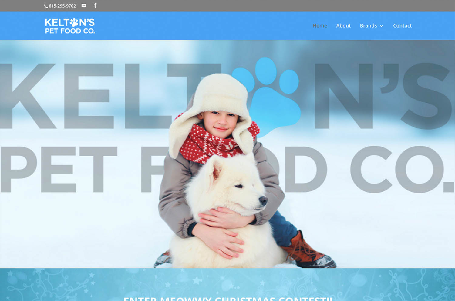 Kelton's Pet Food Co. Murfreesboro, TN - Website Image