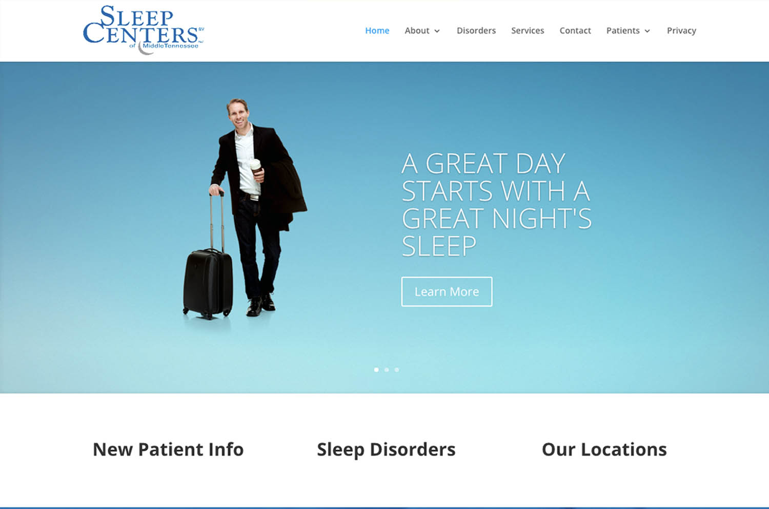 Sleep centers of middle tennessee. Murfreesboro, TN - website image