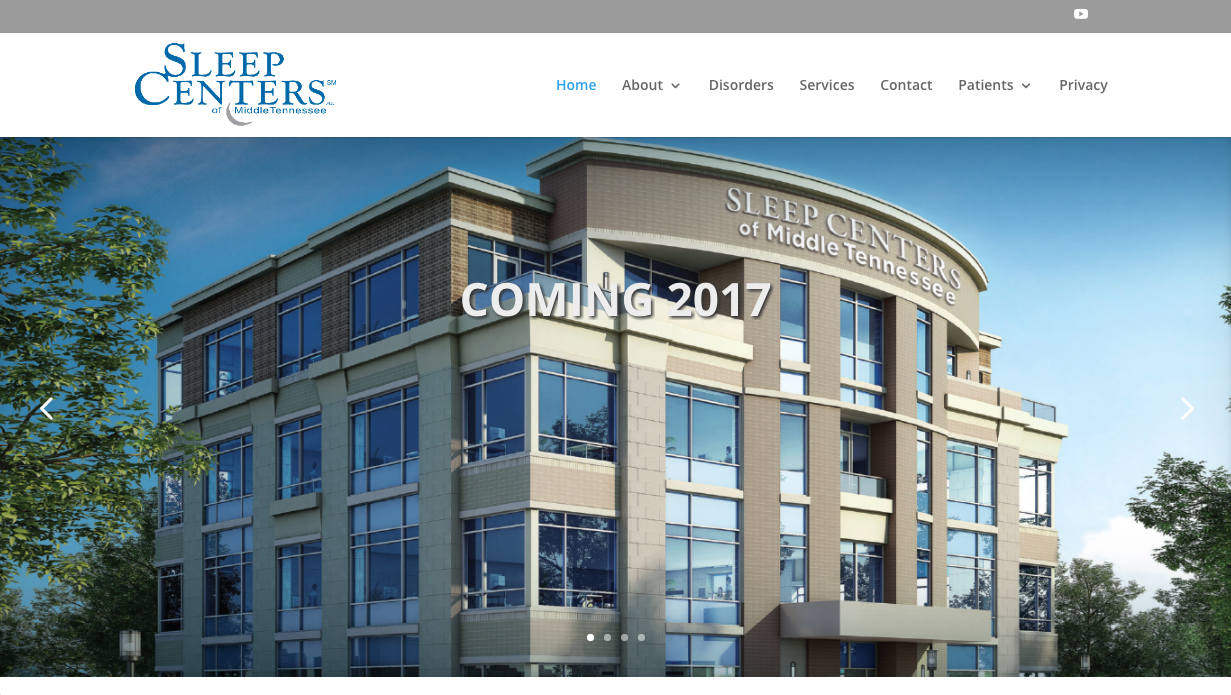 Sleep Centers of Middle Tennessee - Navigation Advertising - Healthcare - Web