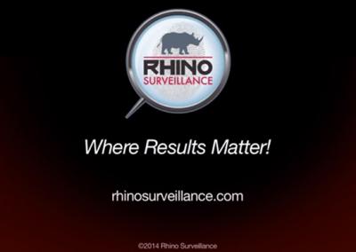 Rhino Surveillance
