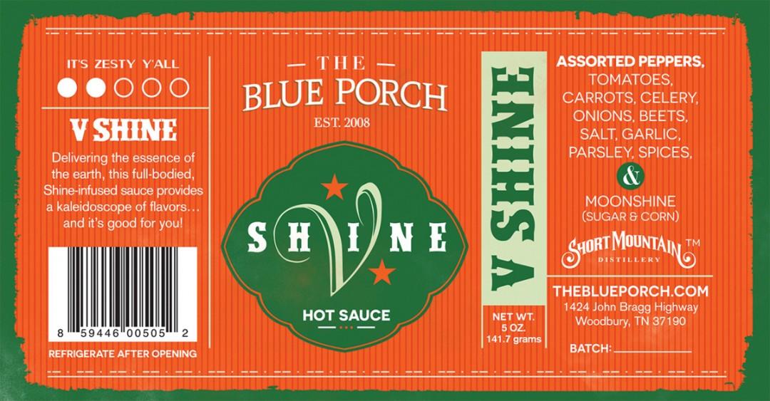 V Shine – The Blue Porch