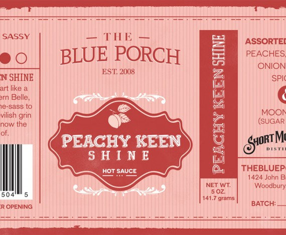 Peachy Keen – The Blue Porch