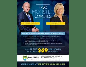 Coach Burt Monster Producer Magazine Ad