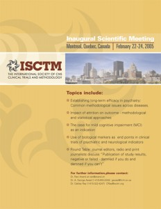 The International Society of CNS Clinical Trials and Methodology. Nashville, TN