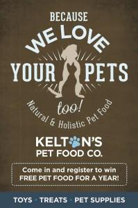 Kelton's Pet Food Co. Murfreesboro, TN - Direct Mail Piece