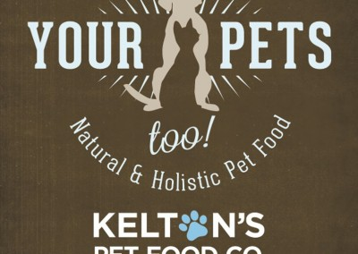 Kelton's Pet Food Co. Murfreesboro, TN - Direct Mail Piece