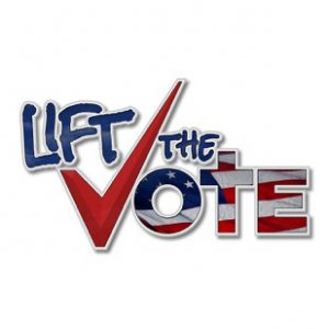 Lift the Vote, Logo, Branding - portfolio