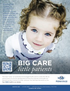 Murfreesboro Medical Clinic. Murfreesboro, TN - Pediatric Ad