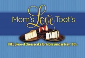 Toot's Good Food & Fun Restaurant. Murfreesboro, TN. - Mother's Day Napkin
