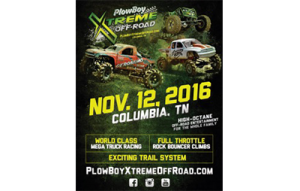 PlowBoy Xtreme Off-Road - Event Flyer - portfolio