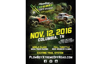 PlowBoy Xtreme Off-Road - Event Flyer - portfolio