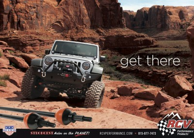 RCV. Off-Road Performance Products, Loves Park, IL - Get There Moab Ad