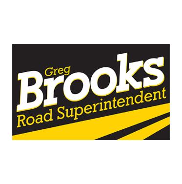 Greg Brooks for Road Superintendent
