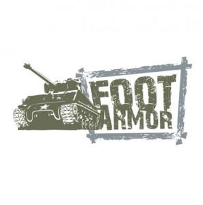 foot armor logo