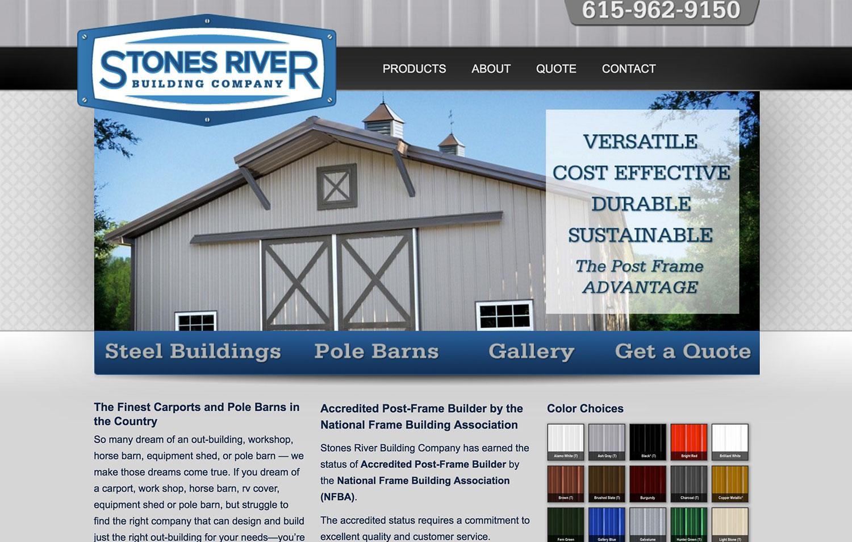 Stones River Building Company. Murfreesboro, TN
