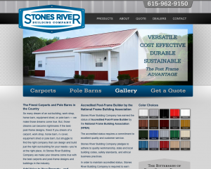 stones river building company website image
