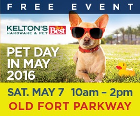 Kelton's Pet Day in May Web Ad - portfolio