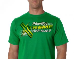 PlowBoy Extreme Off-Road. T-Shirt Design - portfolio