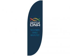 Vehicle DNA. Tradeshow Feather Banner Flag. Atlanta, GA - portfolio