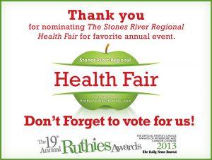 Stones River Regional IPA. Health Fair and Ruthies Ad - portfolio