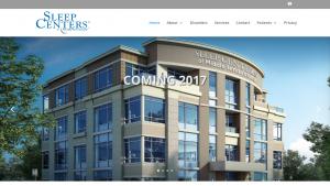 sleep centers of middle tennessee healthcare website - portfolio