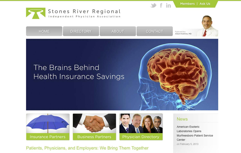 SRRIPA - Stones River Regional IPA - Navigation Advertising - Healthcare - Web