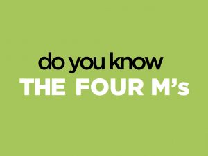 You Should Consider the four M's of Marketing - Merchandise, Market, Media and Message