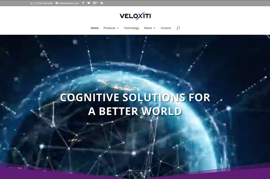 Veloxiti, Inc. Atlanta, GA - website image
