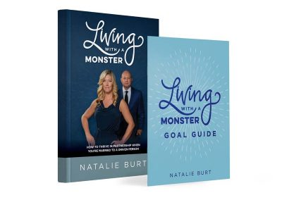 CB Living With A Monster and Living with a monster work book.