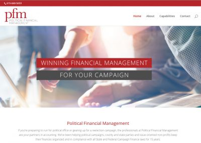 Political Financial Management