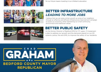 Chad Graham for Bedford County Mayor