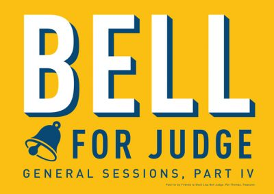 Lisa Bell for Judge